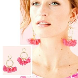 New! Lilly Pulitzer Cascading Petals Earrings!
